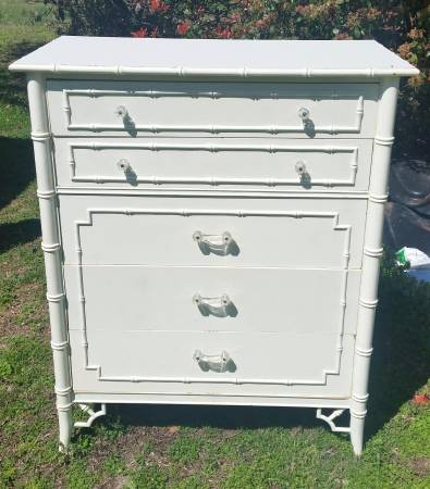 Thomasville Faux Bamboo Dresser $150 View on Craigslist