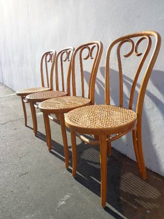 Set of Bentwood Chairs $50 View on Craigslist