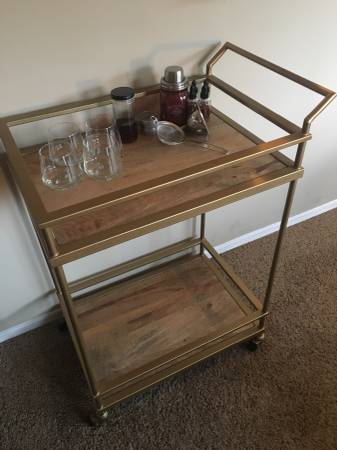 Bar Cart $60 View on Craigslist