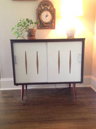 Vintage Record Cabinet $100 View on Craigslist