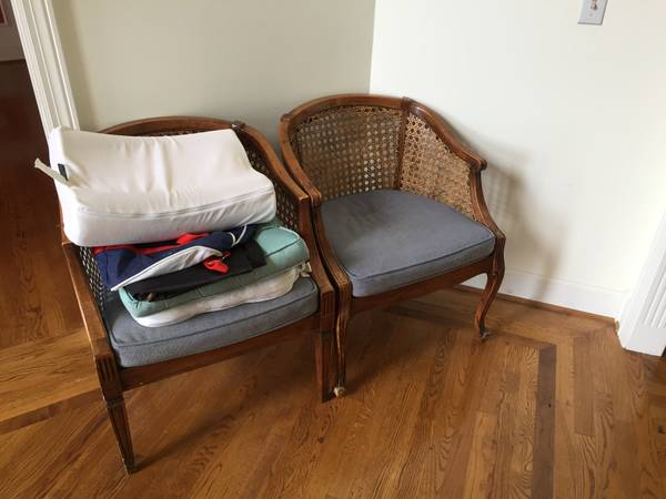 Pair of Cane Back Chairs     $50     View on Craigslist