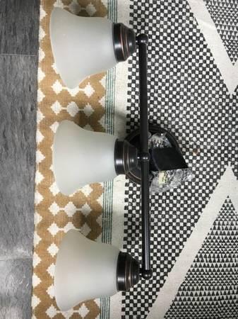 Vanity Light $25 View on Craigslist