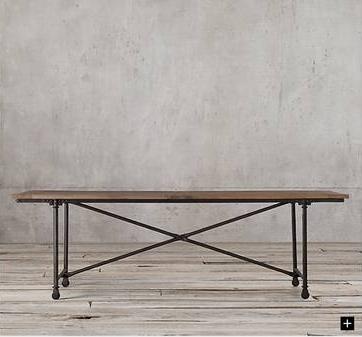 Restoration Hardware Table $500 View on Craigslist