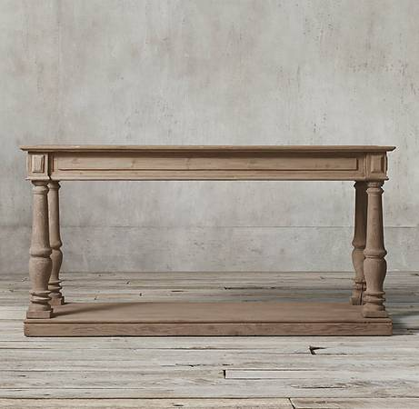 Restoration Hardware Console $750 View on Craigslist