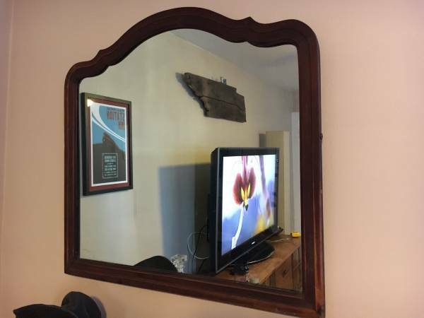 Vintage Mirror $40 View on Craigslist