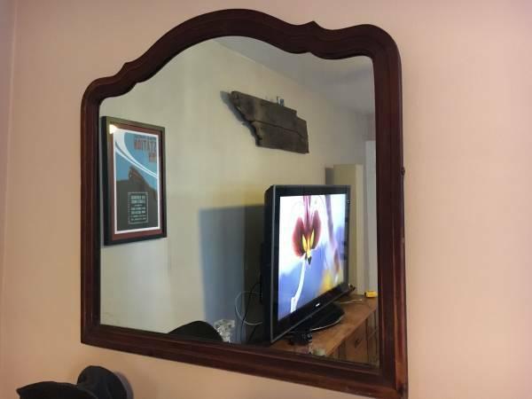 Vintage Mirror $40 View on Craigslist