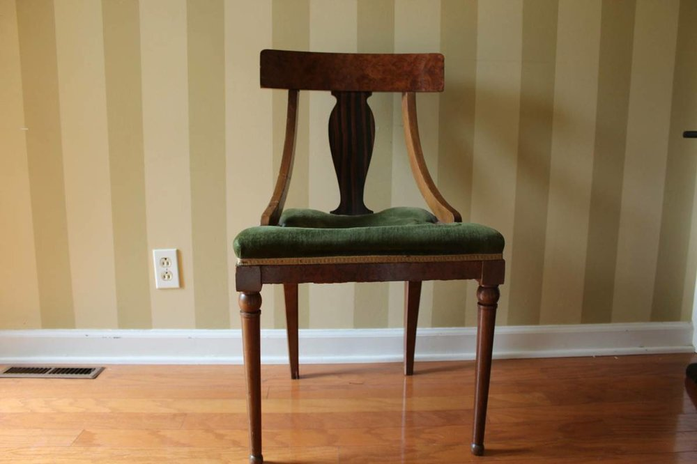 Tiger Maple Chair     $25     View on Craigslist