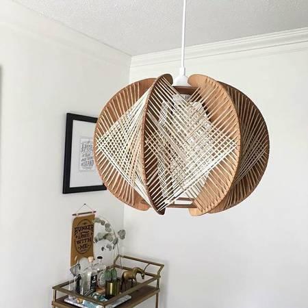 Mid-Century Pendant Light $120 View on Craigslist
