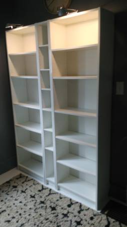 IKEA Billy Bookcase $125 View on Craigslist