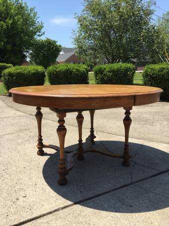 Vintage Oak Table $250 View on Craigslist