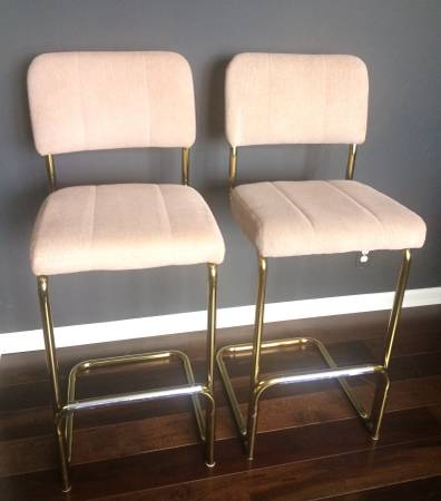 Vintage Brass Stools (4) $75 each View on Craigslist