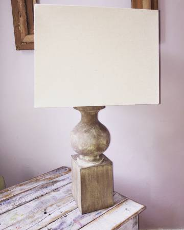 Restoration Hardware Lamp $80 View on Craigslist