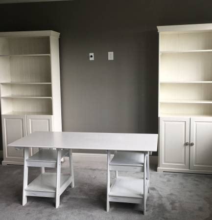 Pair of Ikea Bookcases $150 View on Craigslist