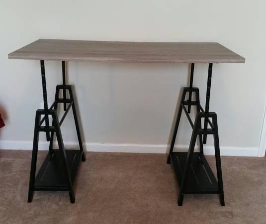 Adjustable Height Desk $80 View on Craigslist