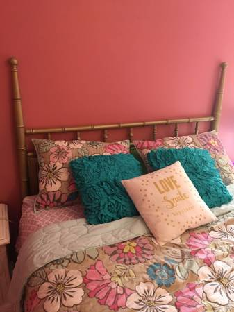 Faux Bamboo Headboard     $50     View on Craigslist