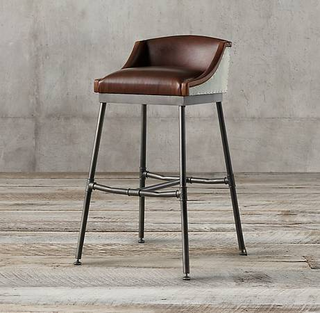 Restoration Hardware Stools (3) $400 each This is half off the retail price. View on Craigslist