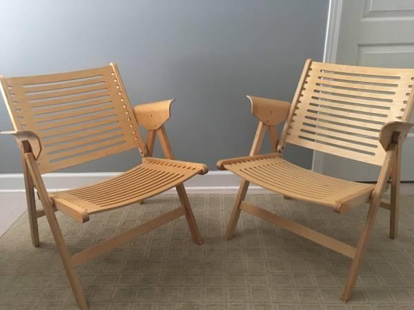 Pair of Niko Kralj Chairs $ Make Offer View on Craigslist