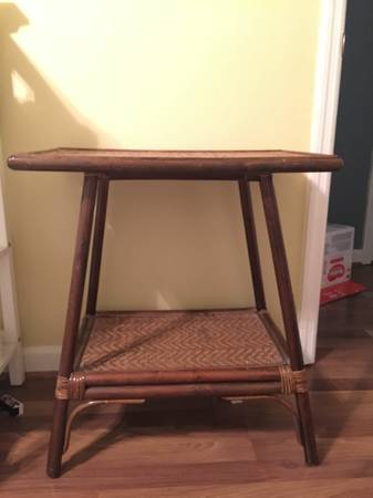 Bamboo Table $25 View on Craigslist