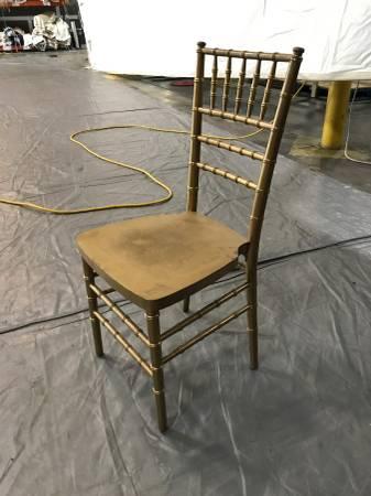 Chiavari Chairs $5 each View on Craigslist