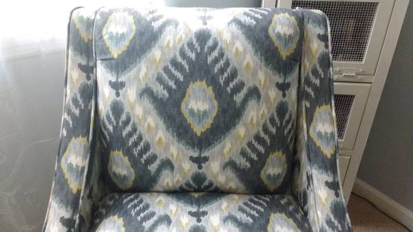 Upholstered Chair $70 View on Craigslist