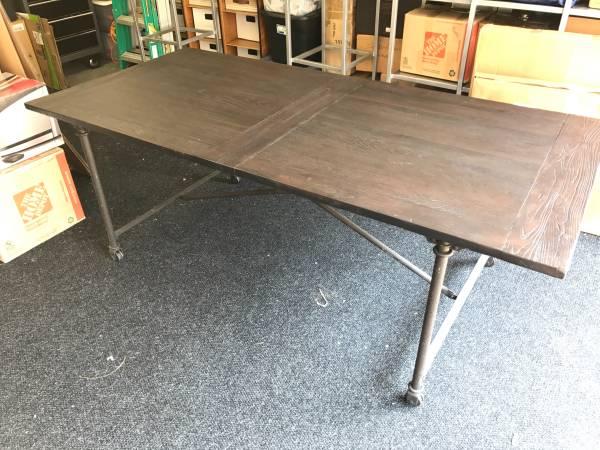 Restoration Hardware Table $450 View on Craigslist