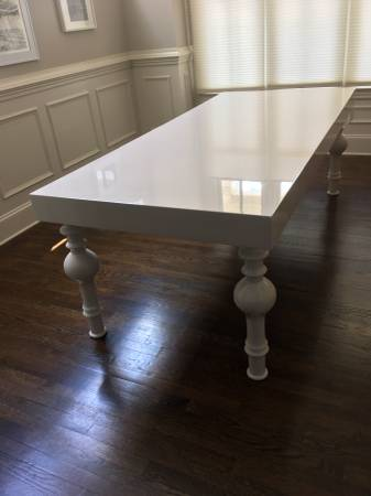 High Gloss Dining Table     $499     View on Craigslist