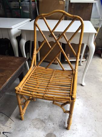 Bamboo Chair     $59     View on Craigslist