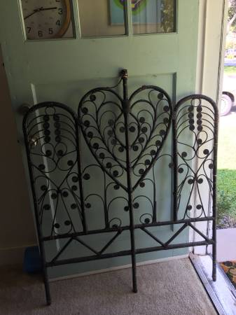 Wicker Headboard     $20     View on Craigslist