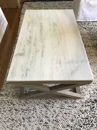 Marble Coffee Table     $300     View on Craigslist
