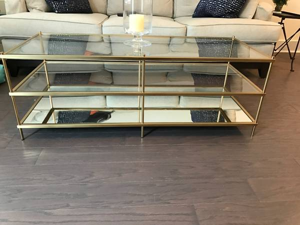 West Elm Coffee Table     $300     View on Craigslist