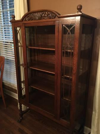 Antique Oak Cabinet $200 View on Craigslist