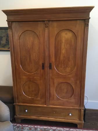 Antique Armoire $250 View on Craigslist