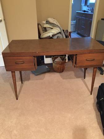 Mid-Century Desk $75 View on Craigslist