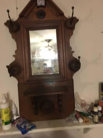 Antique Entry Mirror $90 View on Craigslist