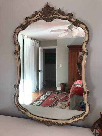 French Provincial Mirror $100 View on Craigslist