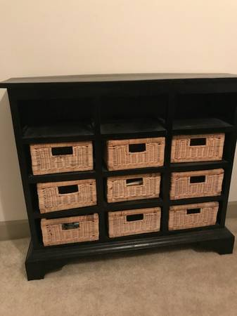 Black Storage Cabinet $150 View on Craigslist