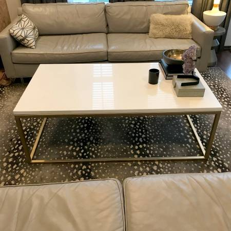 Quartz Coffee Table     $400     View on Craigslist