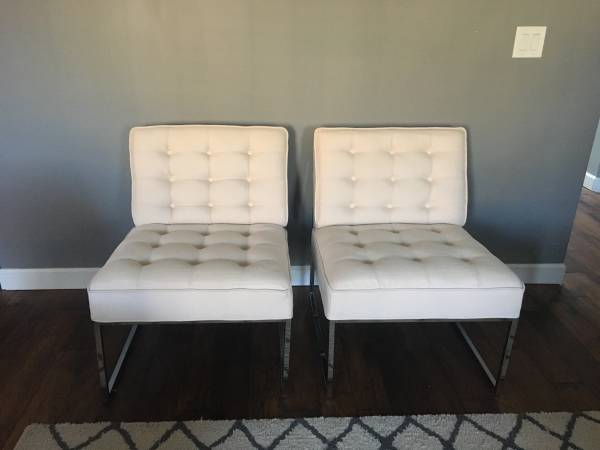 Tufted Chairs     $300     View on Craigslist