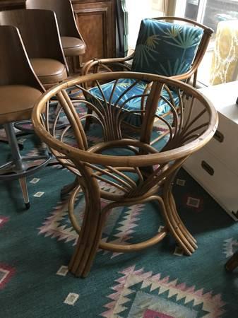 Vintage Rattan Table Base     $65     View on Craigslist