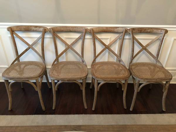 Set of Restoration Hardware Chairs     $240     View on Craigslist