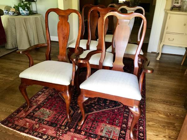 Dining Chairs     $195     View on Craigslist