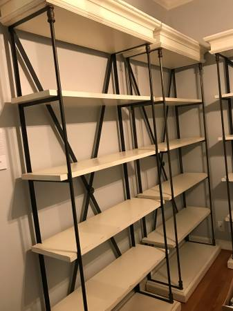 Restoration Hardware Shelves     $600+   There are several sizes available.    View on Craigslist