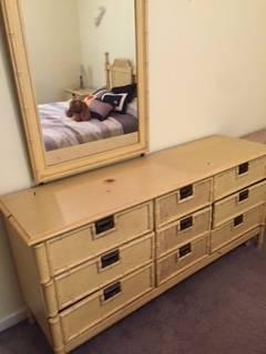 Bamboo Bedroom Set     $250     View on Craigslist