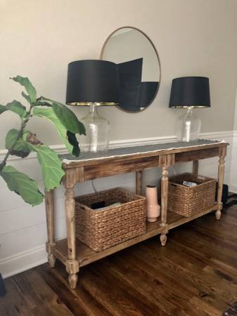Console Table     $175     View on Craigslist