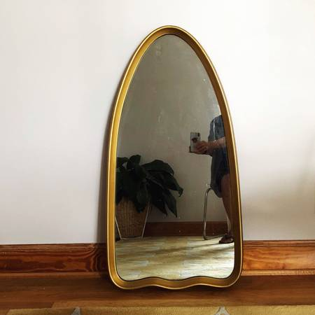 Mid-Century Mirror     $40     View on Craigslist