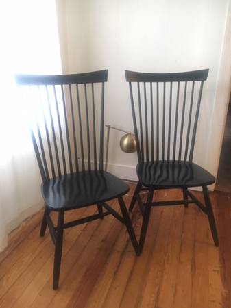 West Elm Windsor Chairs     $55     View on Craigslist