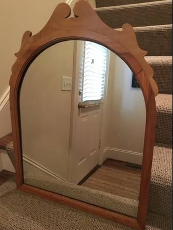 Antique Pine Mirror     $75     View on Craigslist