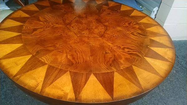 Vintage Inlay Coffee Table     $85     View on Craigslist