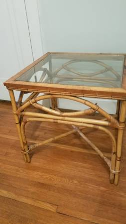 Bamboo Table     $85     View on Craigslist
