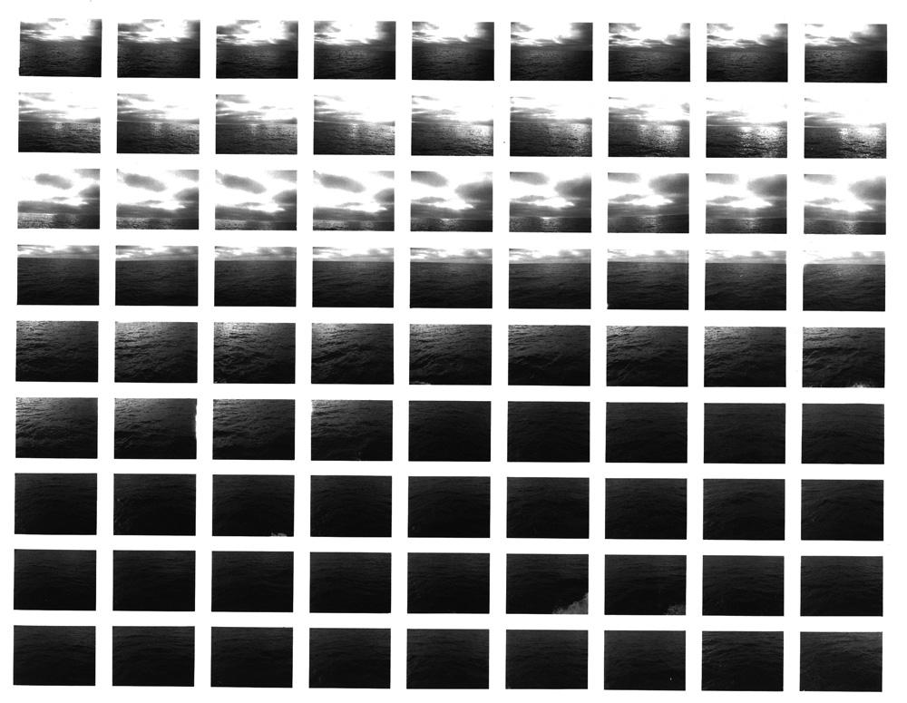 SV47/81, Ocean III (Dawn) , 1981 Vintage Gelatin Silver Print 20 x 24 inches